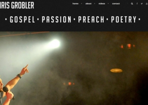 Chris Grobler Web design